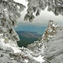 Пазл онлайн: Зима в Крыму