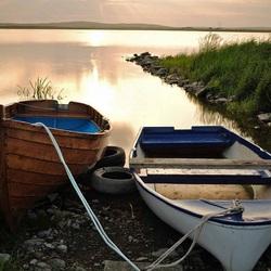 Пазл онлайн: Лодки рыбаков