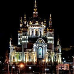Пазл онлайн: Храм в Донецке