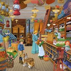 Пазл онлайн: Магазин дяди Стива