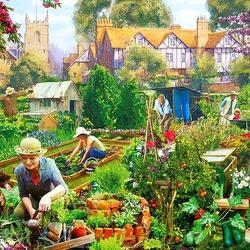 Пазл онлайн: Огородные радости