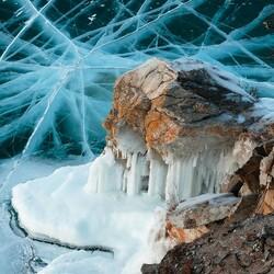 Пазл онлайн: Лед