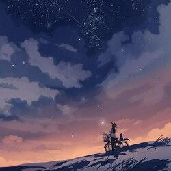 Пазл онлайн: Звездопад
