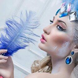 Пазл онлайн: Зимняя красота