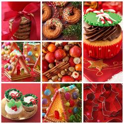 Пазл онлайн: Рождественский коллаж
