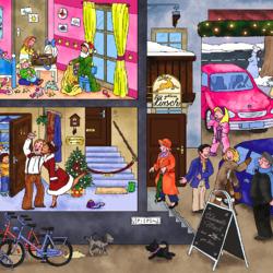 Пазл онлайн: В гости на Рождество