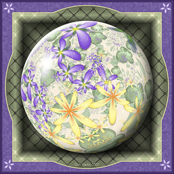 Пазл онлайн: Мраморный шарик