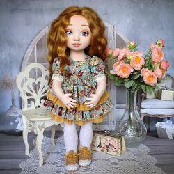 Пазл онлайн: Текстильная кукла