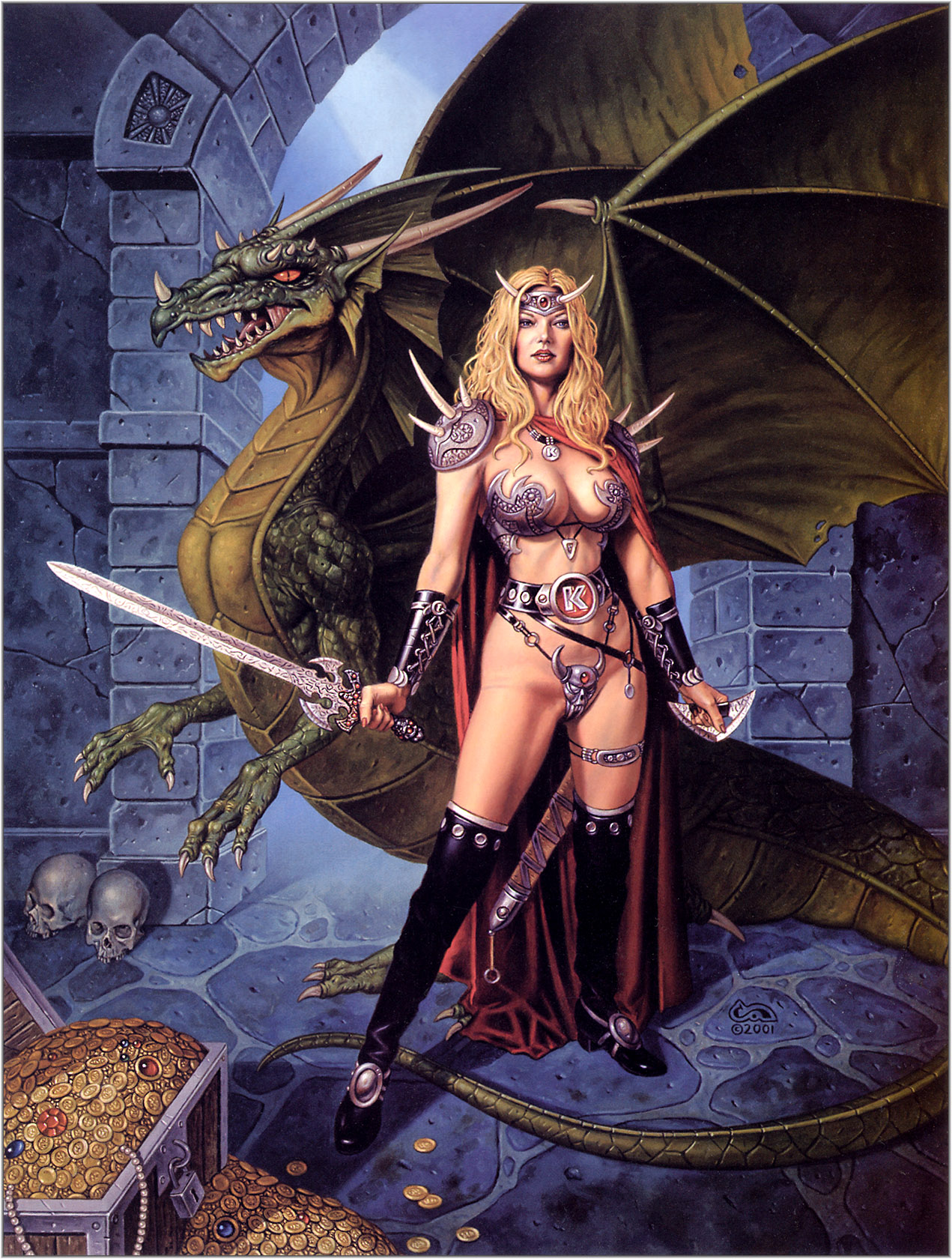 Dungeons and dragons porn fantasy erotica tits