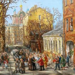 Пазл онлайн: Голиковский переулок