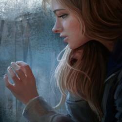 Пазл онлайн: Одиночество
