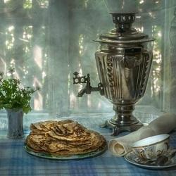 Пазл онлайн: В  ожидании чая