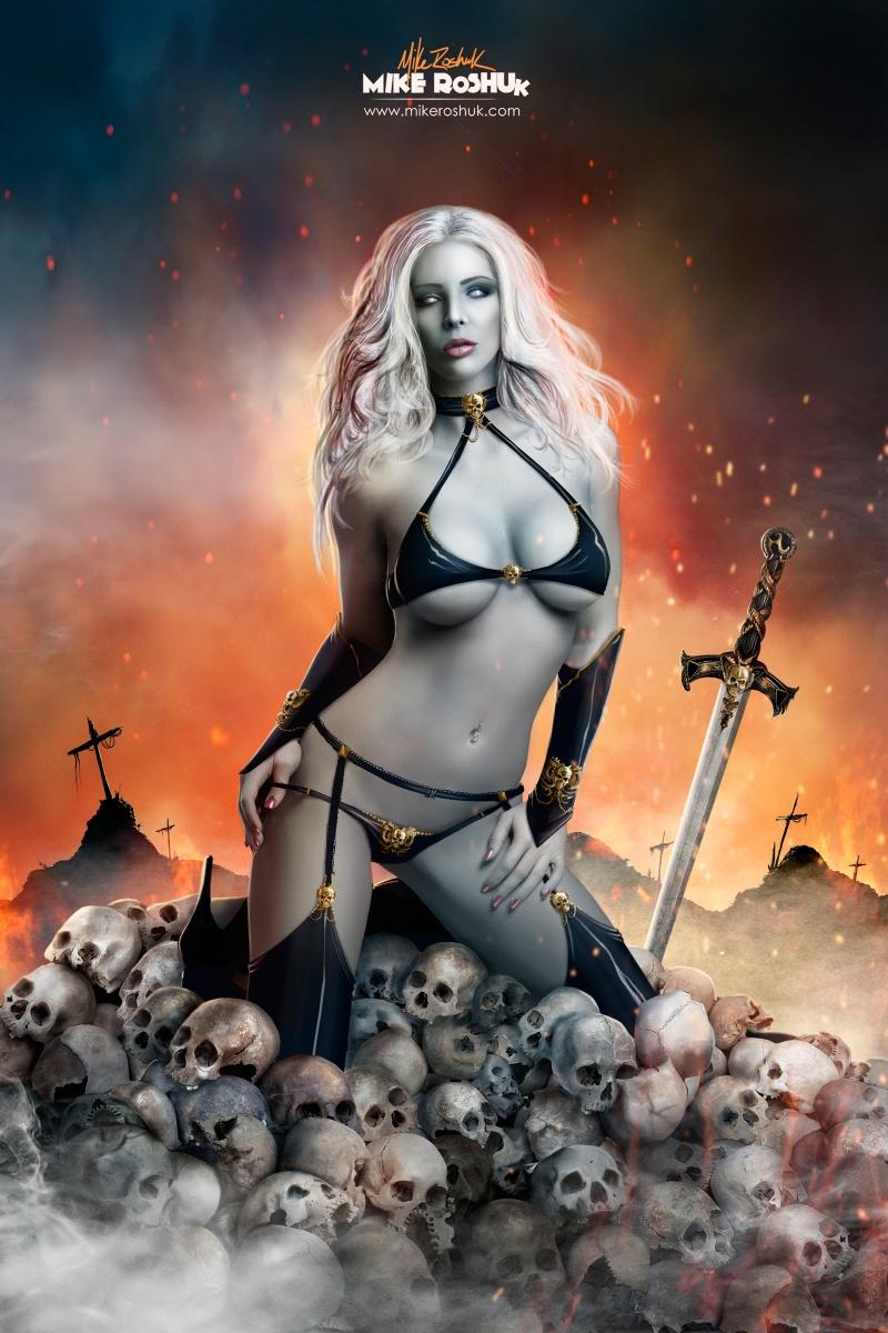 Lady death naked porno movie