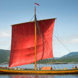 Пазл онлайн: Корабль викингов