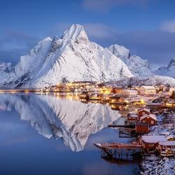 Пазл онлайн: Природа Норвегии