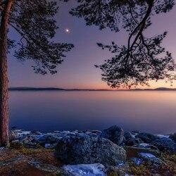 Пазл онлайн: Озеро Имандра