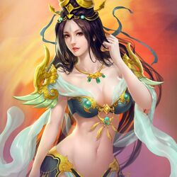 Пазл онлайн: Красавица