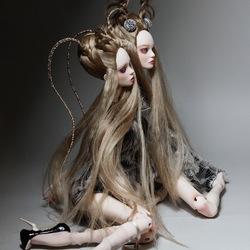 Пазл онлайн: Куклы сестер Поповых