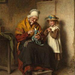 Пазл онлайн: В гостях у бабушки