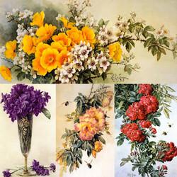 Пазл онлайн: Краски цветов