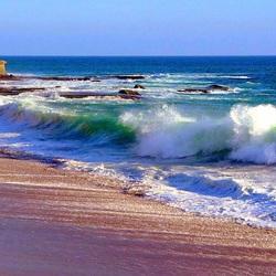 Пазл онлайн: Морской прибой
