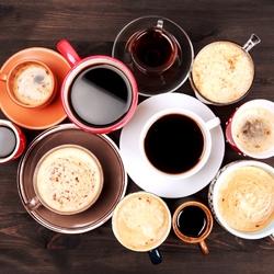 Пазл онлайн: Много кофе