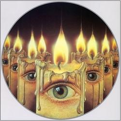 Пазл онлайн: Глаза и свечи