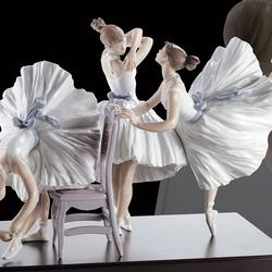 Пазл онлайн: Фарфор Lladro: Урок балета
