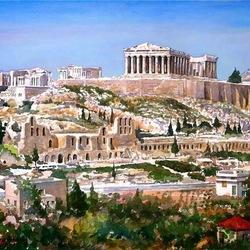 Пазл онлайн: Акрополь