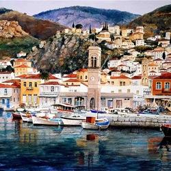 Пазл онлайн: Острова Греции. Гидра
