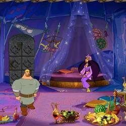 Пазл онлайн: Три богатыря. Шамаханская царица