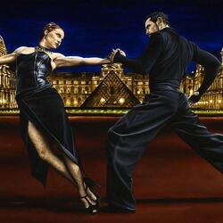 Пазл онлайн: Последнее танго в Париже