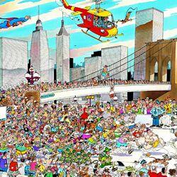 Пазл онлайн: Нью-Йоркский марафон