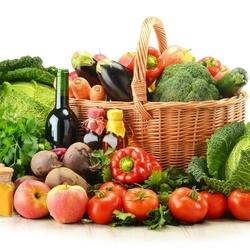 Пазл онлайн: Овощная корзина