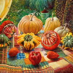 Пазл онлайн: Овощная красота