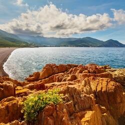 Пазл онлайн: Морской пейзаж