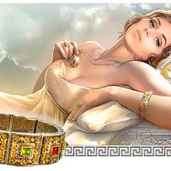 Пазл онлайн: Изнеженная красавица