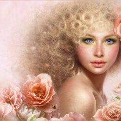 Пазл онлайн: В цветах
