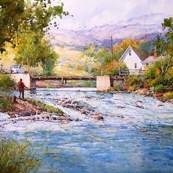 Пазл онлайн: Lost Creek / Забытый ручей