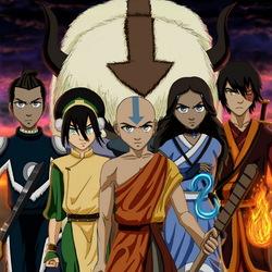 Пазл онлайн: Легенда об Аанге