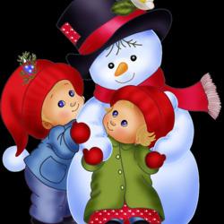 Пазл онлайн: Зимняя радость