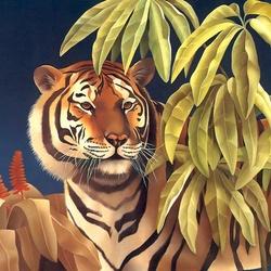 Пазл онлайн: Хозяин джунглей