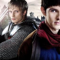 Пазл онлайн: Артур и Мерлин
