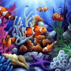 Пазл онлайн: В океане