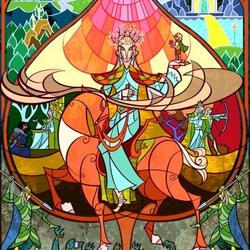 Пазл онлайн: Трандуил-Король Лихолесья