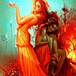 Пазл онлайн: Магический ритуал