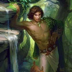 Пазл онлайн: Хозяин леса