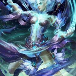Пазл онлайн: Стихийная магия