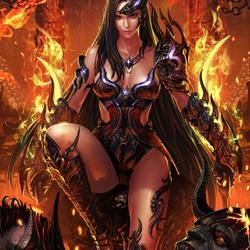 Пазл онлайн: Повелительница демонов
