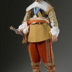 Пазл онлайн: Исторические лица Франции в куклах